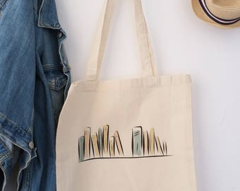 Bag 100% cotton Tote bag for all lovers of books, only for book lovers