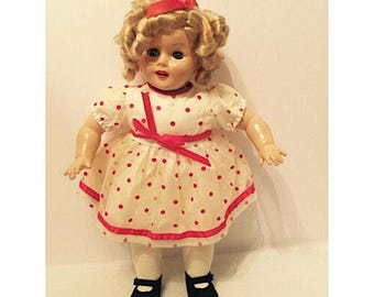 SALE - Vintage 1989 Bright Star Shirley Temple Doll by Horsman