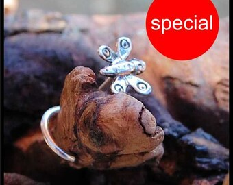 Butterfly Nose Stud / Insect Nose Ring / Animal Nose Bone / Rock Your Nose - CUSTOMIZE