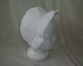 Crochet PATTERN    Girls , summer hat,, sun hat for girls 3 to 5 years old