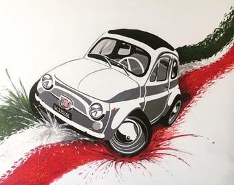 500 Italian flag picture