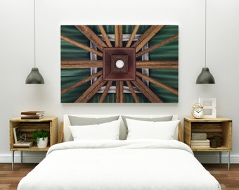 locus // abstract photography canvas print // large abstract wall art // abstract art print // geometric architecture photography // bali