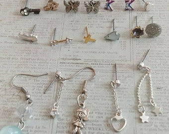 Single earring destash lot