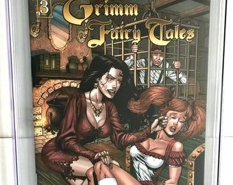 Grimm Fairy Tales #3 9.8 CGC RARE Graded Custom Slabbed Comic Hansel & Gretal Sean Shaw Cover - Zenescope Comics Free Shipping