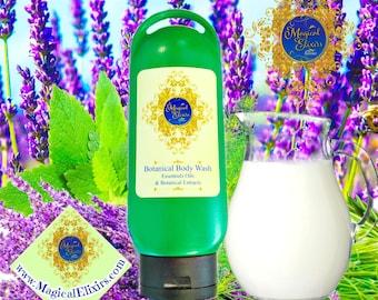 Lavender, Milk, Fir, Shower Gel, Liquid Soap, Body Wash