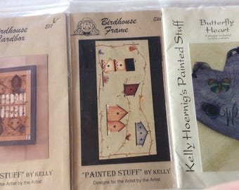 Decorative painting pattern packet designs  by Kelly Hoernig