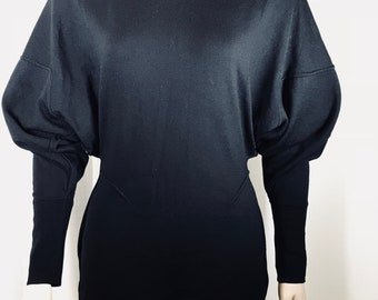 Azzedine ALAIA  Original Highly Stylized top mid '80's with exaggerated sleeve
