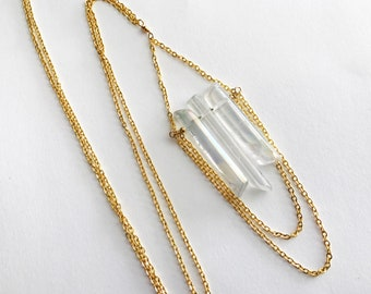 Aricha Quartz Long Necklace