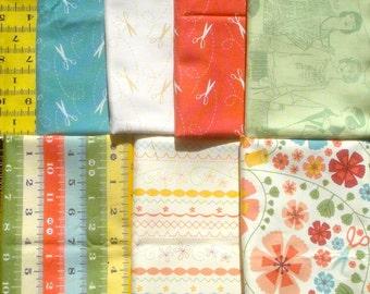 SALE : Cosmo Cricket Tailor Made Andover fabrics 7 FQ set plus bonus Please Read