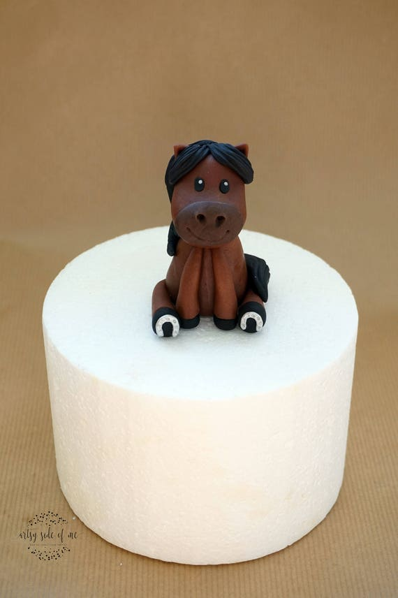 Fondant horse cake topper fondant farm animals farm cake