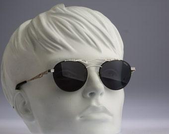 Chai ST2 F1, Vintage round sunglasses, 90s mens & women rare and unique / NOS