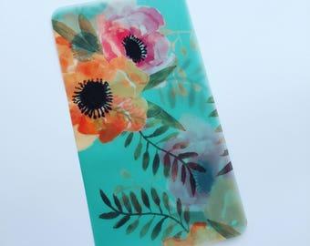 TN/Dori Dashboard Vellum Aqua Floral