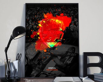 Arsenal FC Digital Poster