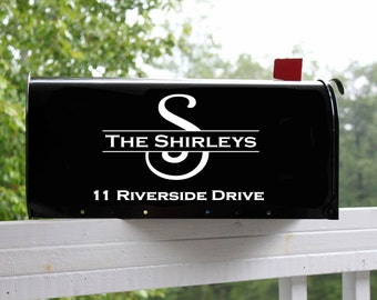Mailbox Decal, Set of Two