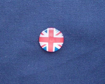 British flag Union Jack 25 mm glass cabochon