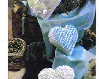 Heart Sachets Plastic Canvas  ~   Annie's International  ~  Valentine's Day pattern