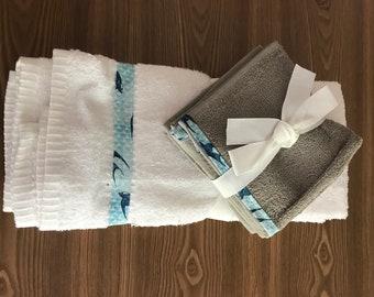 Guest bath towel gift set