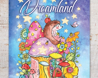 Dreamland (Coloring Books, Coloring Pages, Adult Coloring Books, Adult Coloring Pages, Coloring Books for Adults)