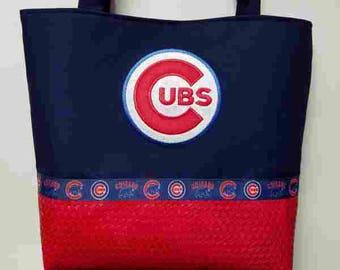 Chicago Cubs Purse