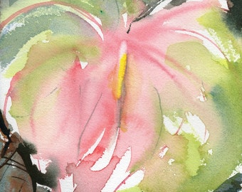 Fresh Pick No.117, limited edition of 50 fine art giclee prints from my original watercolor
