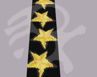 Peyote pattern Stars... PDF pattern