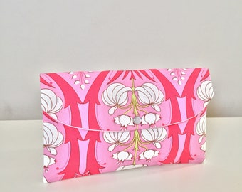 Floral clutch/wedding accessories/Bridesmaid party gifts/sunglasses case/passport holder