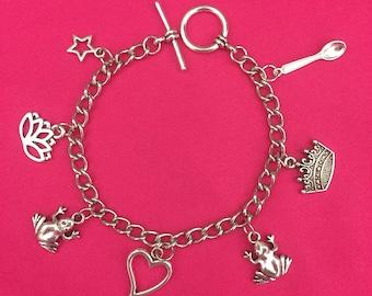 Princess and the Frog Charm Bracelet