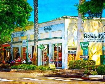 "Carpinteria, CA ""Robitaille's"" Fine Art Photographic Print in Various Sizes"