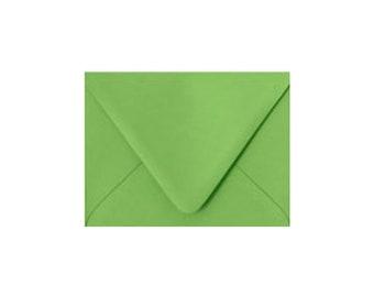 Trèfle vert A7 enveloppes, 7.25x5.25, enveloppes, papier Source Pointed Rabat enveloppes, vendu par lot de 10