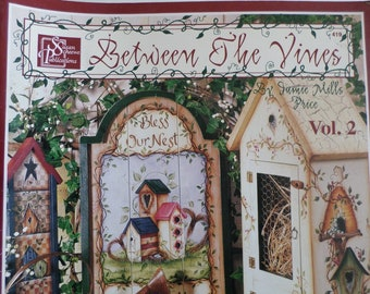 Between the Vines Vol.2 Decorative painting pattern book , tole painting