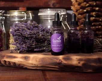 Lavender Body Oil - All Natural Body Oil - Bath and Body - LoveBee