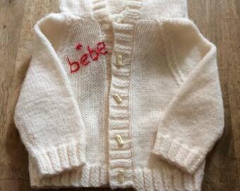 Personalised baby jacket