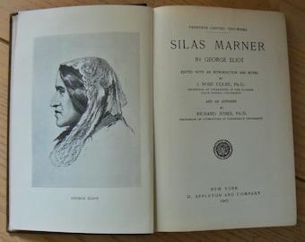 Antique Book, 'Twentieth Century Text Book', Silas Marner by George Eliot, Classic Literature, Antiquarian Book