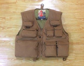 Vintage Keny Club Goose Down  Hunting Fishing Vest