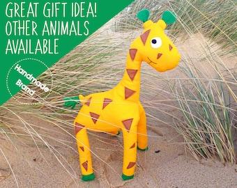 Giraffe stuffed toy, stuffed animal giraffe, soft toy giraffe, cuddly toy giraffe, plush toy giraffe, giraffe plushie, cute baby soft toy