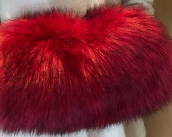 Faux Fur Muff - Color options