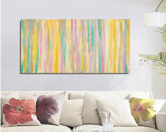 large Abstract Painting, Original Painting Acrylic on Canvas, Abstract Tree Painting, Painting Abstract