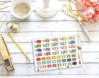 Travel Day/Packing Stickers    46 Planner Stickers