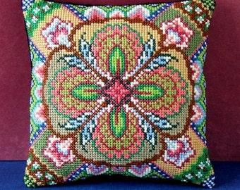 Kaleidoscope Mini Cushion Cross Stitch Kit
