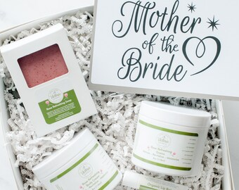 Mother of the Bride Gift Set -  Mother of the Groom Gift Basket - Mother of the Bride Spa Gift Box - Mother of the Groom bath and beauty Set