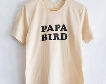 Papa Bird, Men's shirt, by The Bee & The Fox