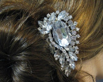 Bridal Hair Comb Wedding Jewelry Wedding Hair Comb Swarovski Pearl Swarovski Crystal Rhinestone Hair Comb  Bridal Jewelry Pageant Jewelry