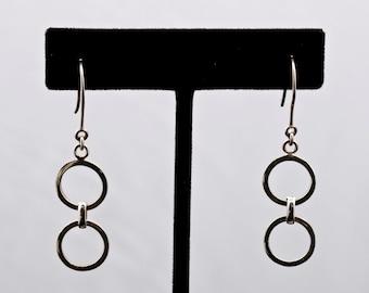 Geo16 - Earrings - Sterling Silver