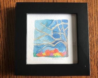 Tree Dream  {Original Watercolor}