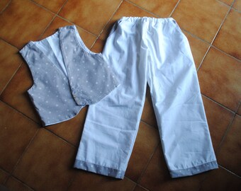 two-tone set for adorable baby boy