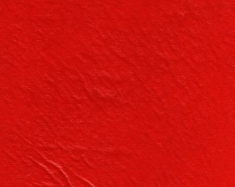 """53-54"""" Red Vinyl (Flannel Backed)-25 Yard Tube (VY500R-C1)"""