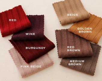 STRETCHY GOLGI KNIT fabric in adorable 33 colours, by Yard