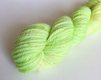 Hand Dyed Aran Yarn Mini Skein