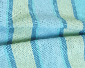 beach colors hand towel, light blue tabby