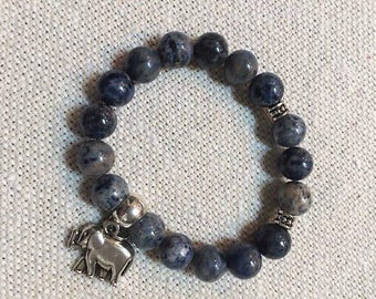 Beautiful Blue Sodalite Bracelet
